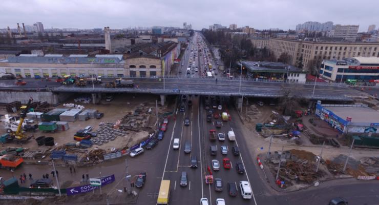 Шулявский мост планируют полностью достроить до лета