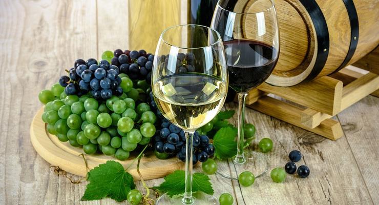 Куда и сколько Украина экспортировала вина
