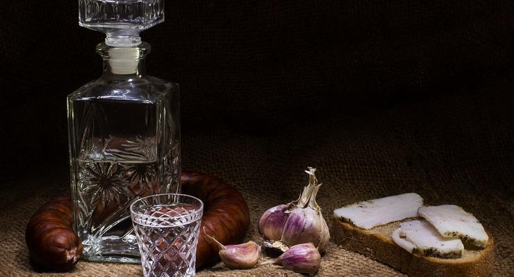 За год украинцы выпили водки на более чем 15 млрд грн