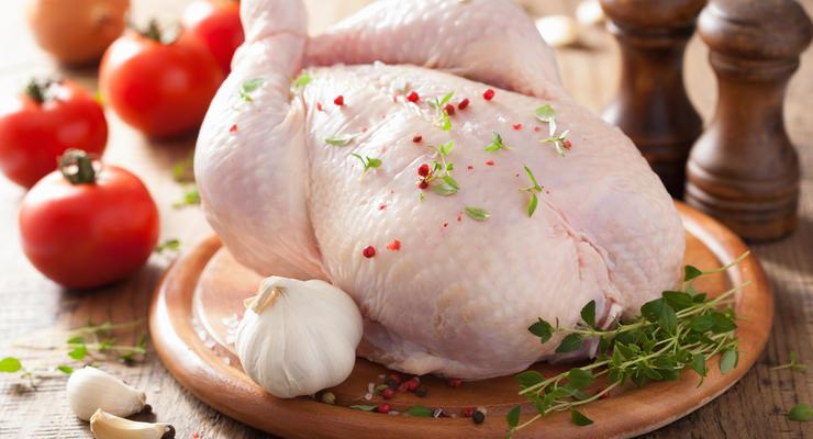 В Украине немного подешевела курятина