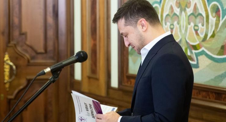 Бизнес оценил работу Зеленского за год