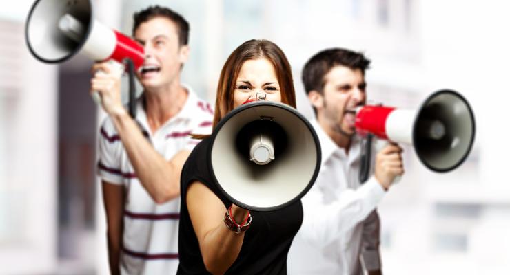 Малые предприниматели устроили митинг под КГГА
