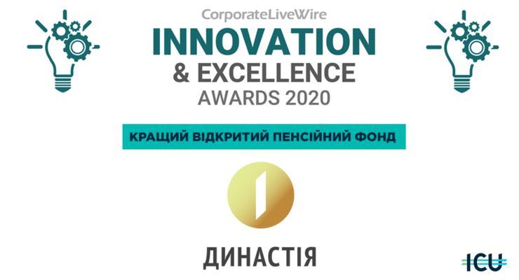 НПФ «Династия» от ICU стал лучшим пенсионным фондом Украины в 2020 году