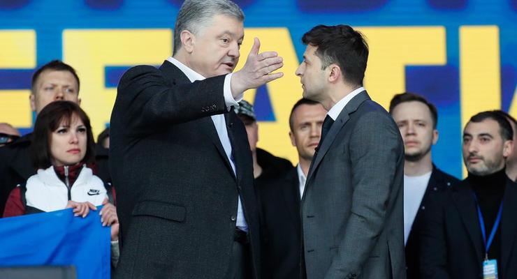 НАПК проверит декларации Зеленского и Порошенко