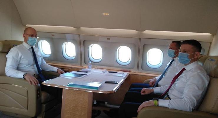 Премьер Шмыгаль отправился с официальным визитом в ЕС