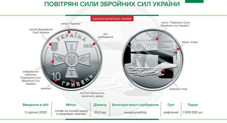НБУ выпустил миллионный тираж новой памятной монеты