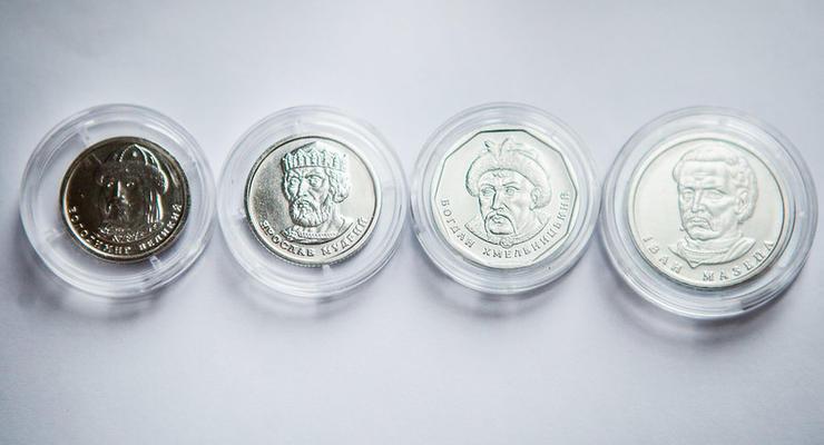 НБУ может изменить дизайн монет в 1, 2, 5 и 10 гривен