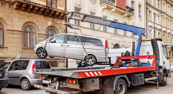 В Киеве с начала сентября выписали штрафов за парковку на миллион гривен