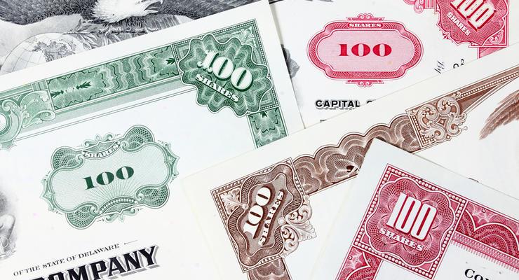 В Украине разрешили продавать акции известных компаний из США