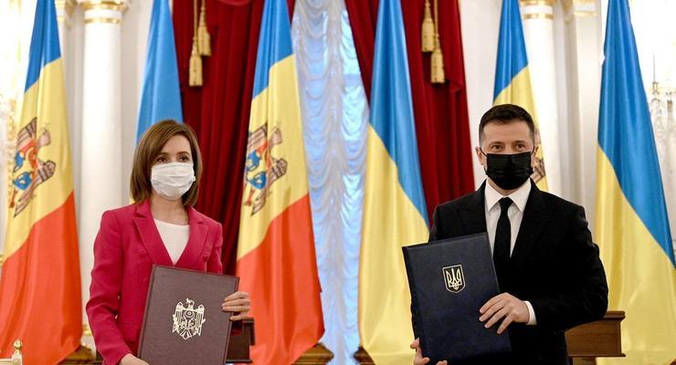Зеленский и Санду договорились о сотрудничестве