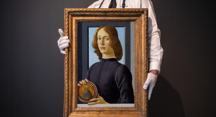 Картина художника Боттичелли продана на аукционе Sotheby's за 92 млн долларов
