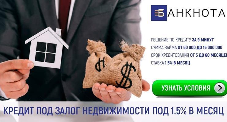Кредит под низкий процент для физических и юридических лиц