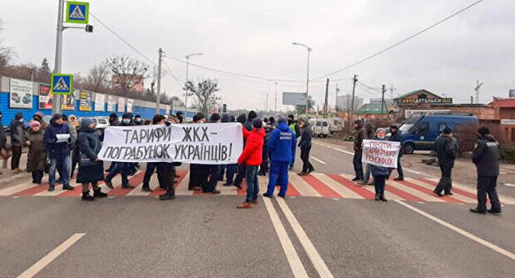 Подавляющее большинство украинцев поддерживает акции протеста против тарифов - опрос