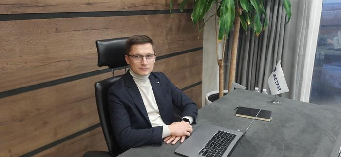 Гендиректор Sensar Марк Марченко