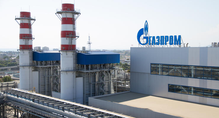 """""""Газпром"""" резко понизил объемы транзита газа через Украину"""