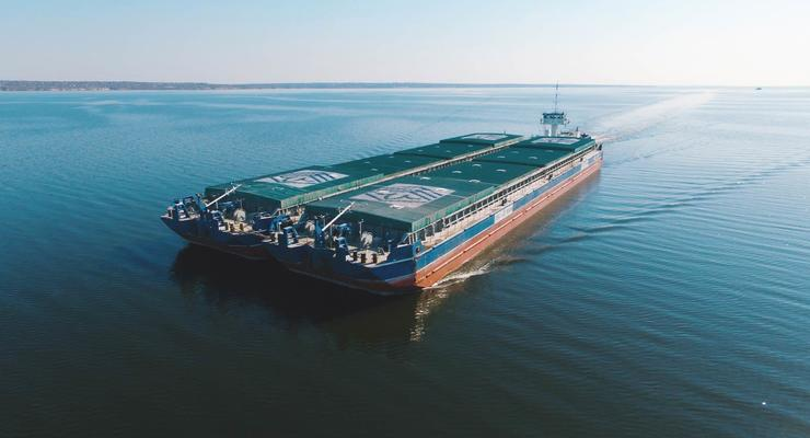 Украина построит на Днепре речной флот за 200 млн долларов