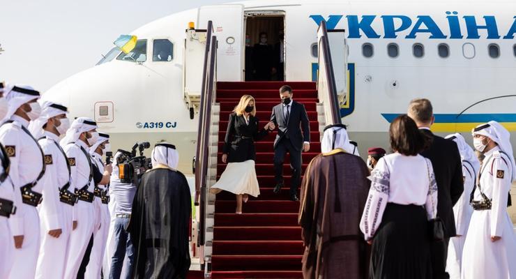 Паспорт моряка, инвестиции и помощь при борьбе с COVID-19: Зачем Зеленский полетел в Катар