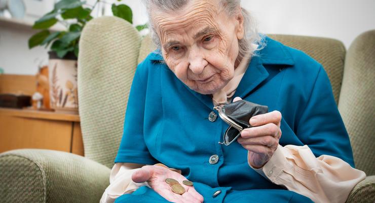 В Украине 60% пенсионеров получают пенсию до 3 тыс грн — Лазебна