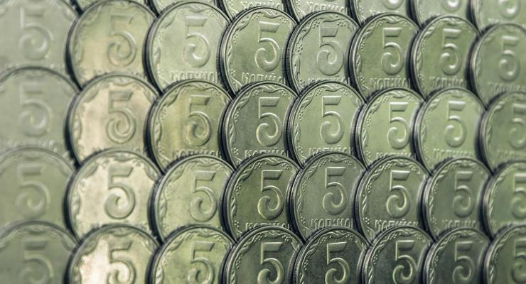 НБУ выставил на аукцион 45 тонн выведенных из обращения монет