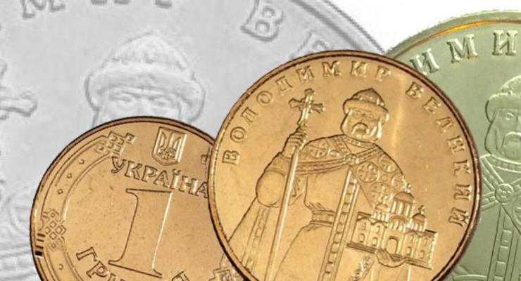 Нацбанк продал золотых монет на 870 тысяч гривен