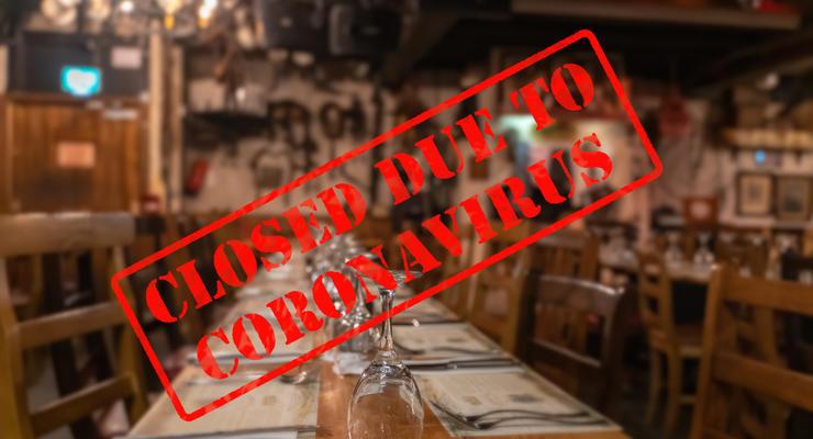 В Украине после локдауна 14% ресторанов закрылись навсегда: Инфографика