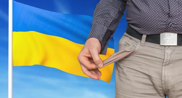 Госдолг Украины забирает каждую седьмую гривну из бюджета: Инфографика