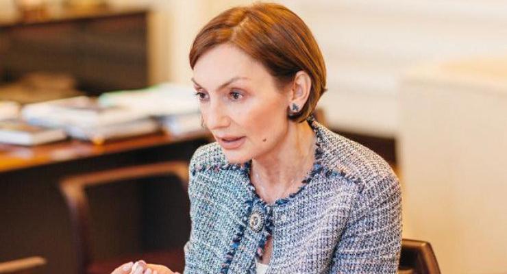 Замглавы НБУ Катерина Рожкова ежемесячно тратит на свой пиар 100 тыс долларов