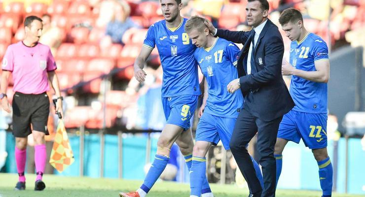 Украинская сборная заработал почти $20 млн на Евро 2020