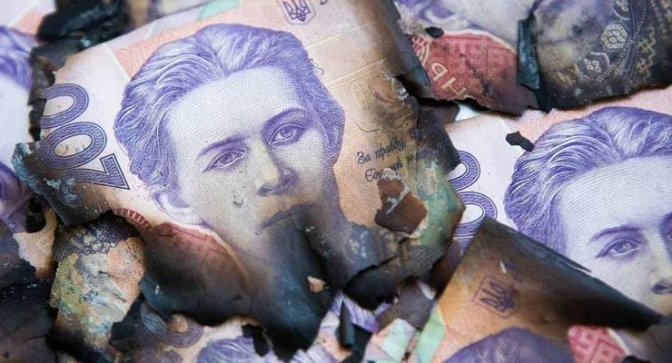 Что делать с деньгами, которые повредил огонь или вода — ответ НБУ