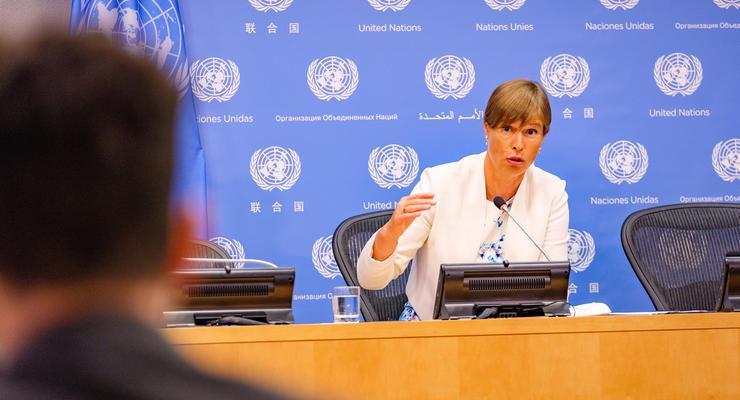 """""""Не инвестируйте в Украину"""": президент Эстонии дала совет своим гражданам"""