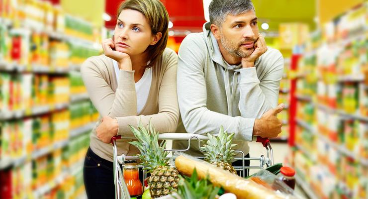 Сколько денег на еду из бюджета выделяет семья в Украине и ЕС