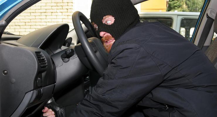 В Украине снизилось количество угонов автомобилей до 5-летнего минимума